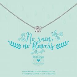 Heart to get necklace - No rain, no flowers - 601828