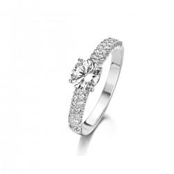 NAIOMY MOMENTS ring in zilver met zircoon - 601720