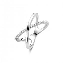 NAIOMY ring in zilver met zircoon - 600623
