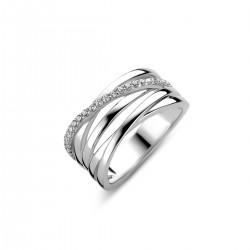 NAIOMY MOMENTS Zilveren ring met zirconium - 605843