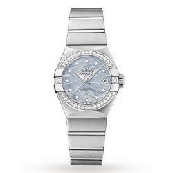 OMEGA CONSTELLATION STAAL 27MM CO-AXIAL - 4 YEAR WARRANTY - 51864
