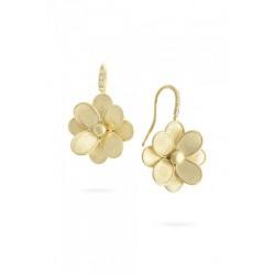 MARCO BICEGO LUNARIA PETALI Collectie - 18kt geel gouden oorringen en diamant 0.16ct - 606022