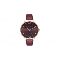 OLIVIA BURTON dames uurwerk met chocolate wijzerplaat - 602286