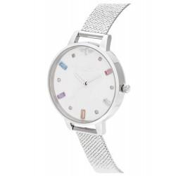 OLIVIA BURTON dimi silver dames uurwerk met batterij - 606232