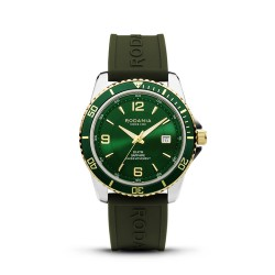 RODANIA Leman TT-green Silicone 43 mm - 610086