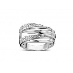 DULCI NEA - 18 kt witgouden ring met diamant (0.37 ct.) - 602366