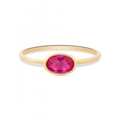 SWING JEWELS 18kt geel gouden ring met zirconium - 609325