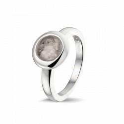 SEE YOU memorial gedenksierraad - zilveren ring met zirconium - 608465