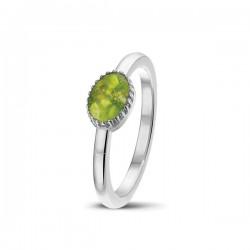 SEE YOU memorial gedenksierraad - zilveren ring met zirconium - 603569