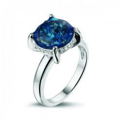 SEE YOU memorial gedenksierraad - zilveren ring met zirconium - 603568