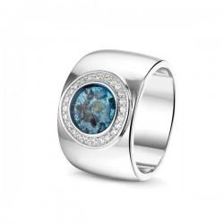 SEE YOU memorial gedenksierraad - zilveren ring met zirconium - 603565