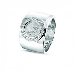 SEE YOU memorial gedenksierraad - zilveren ring met zirconium - 603563