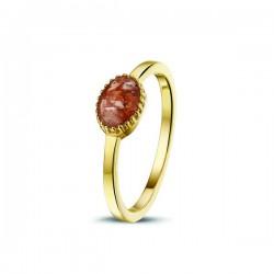SEE YOU memorial gedenksierraad - zilveren ring geel verguld - 603576