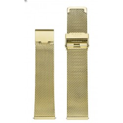 KANE metalen band - Gold mesh - 605152