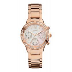 GUESS Dames uurwerk quartz MINI GLAM HYPE ROSE GOLD - 53298