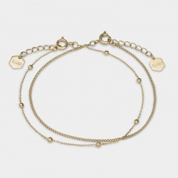 CLUSE Essentiele gold set of two fine bracelet - 602750