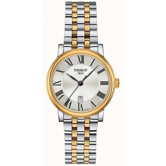 Tissot CARSON dames uurwerk met batterij - 607212